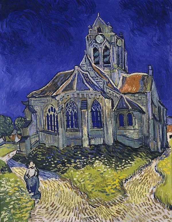 Style Image: The Church in Auvers-sur-Oise, Van Gogh