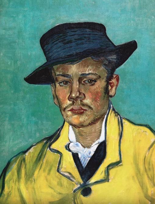 Style Image. Portrait of Armand Roulin, Van Gogh