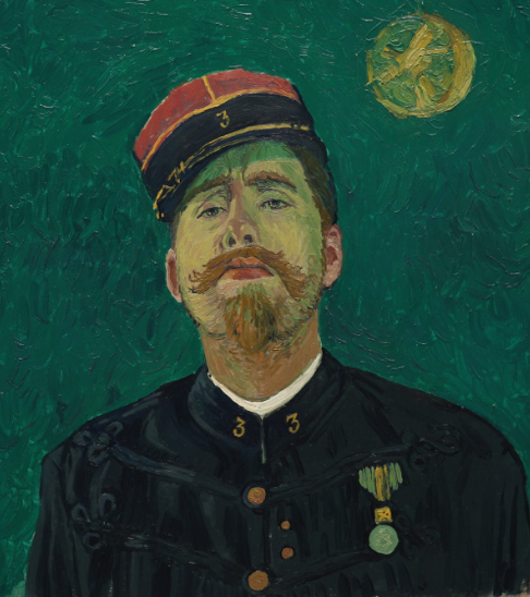Artist's reinterpretation of Paul-Eugène Milliet. Copyright © 2013-2019 Loving Vincent (http://lovingvincent.com). Fair Use