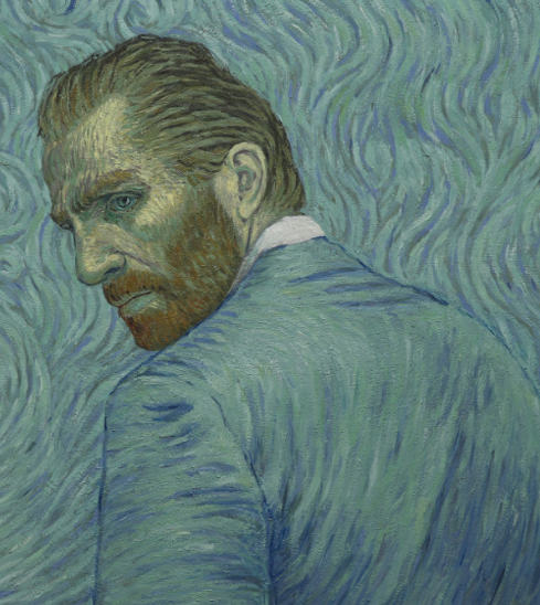 Artist's reinterpretation of Self Portrait. Copyright © 2013-2019 Loving Vincent (http://lovingvincent.com). Fair Use