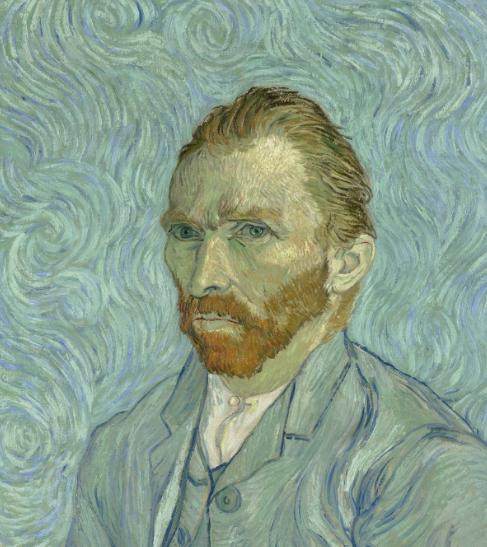 Style Image. Self Portrait, Van Gogh