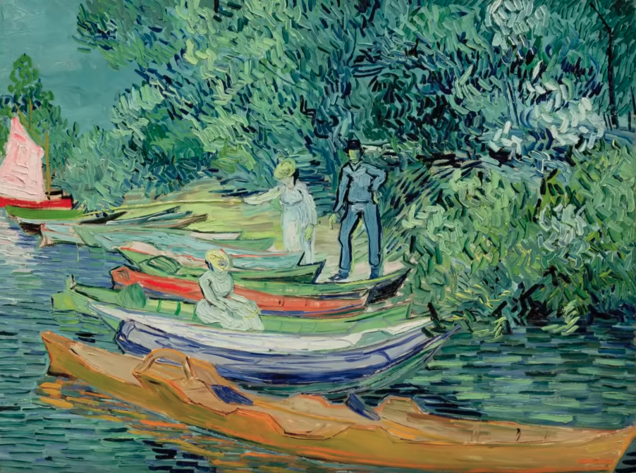 Style Image. The Boatman, Van Gogh