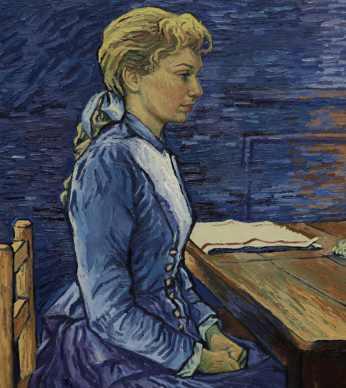 Artist's reinterpretation of Adeline Ravoux. Copyright © 2013-2019 Loving Vincent (http://lovingvincent.com). Fair Use