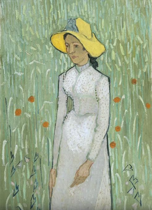 Style Image. Girl in White, Van Gogh