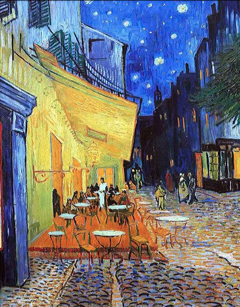 "Style Image: ""Cafe Terrace at Night"", Van Gogh"