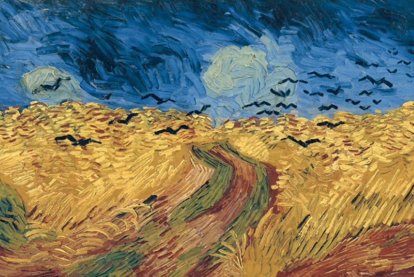 Style Image: Wheatfield with Crows, Van Gogh