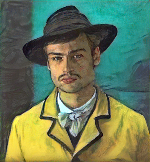 Result: Portrait of Armand Roulin, Neural Style Transfer