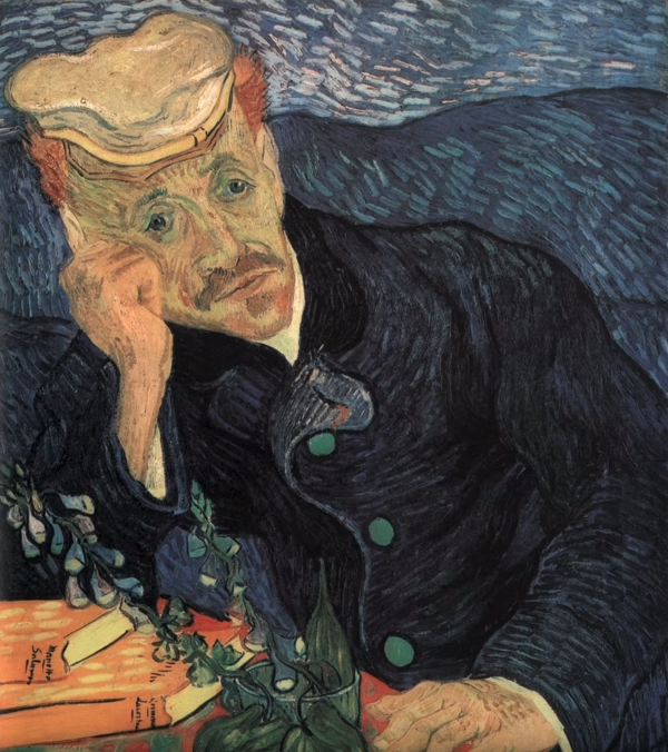 Style Image. Dr Gachet, Van Gogh