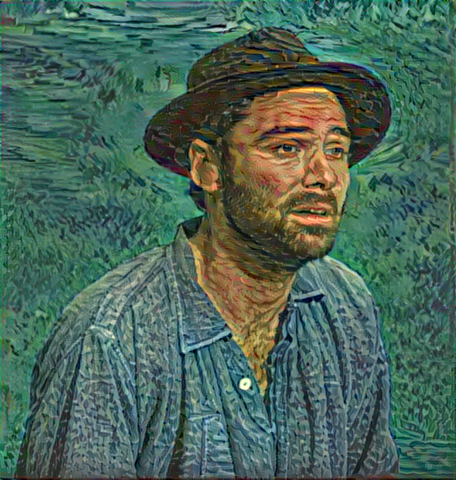 Result: The Boatman, Neural Style Transfer
